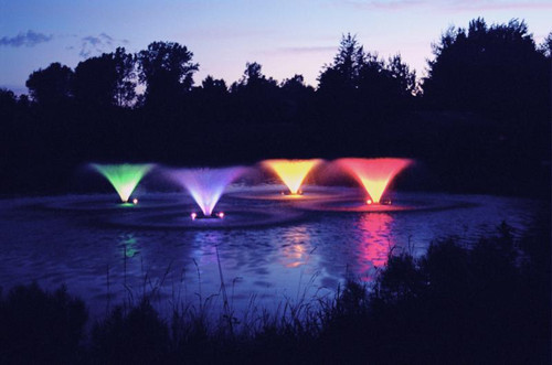 Kasco Fountain V-Pattern 4400VFX Aerating Floating Fountain