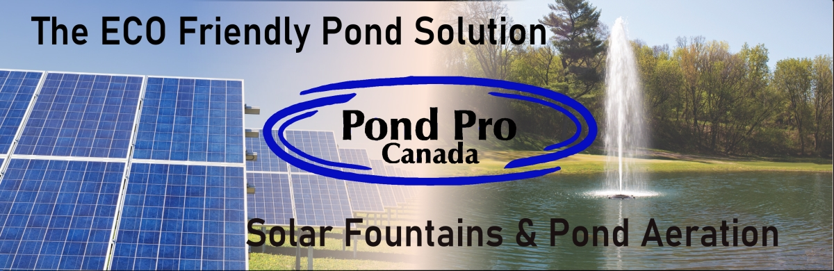 Solar Pond Aeration & fountains