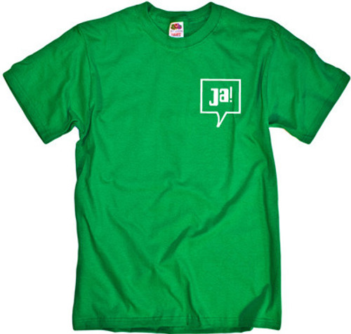 JA! German Translation of YES! Cool Vintage T-Shirt