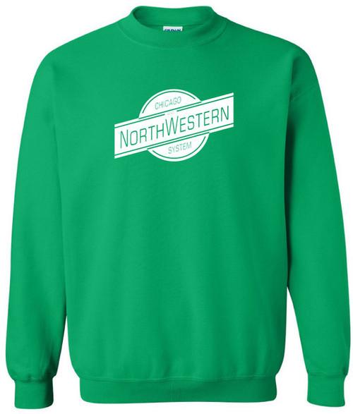 Chicago Northwestern Railroad Logo Sweatshirt