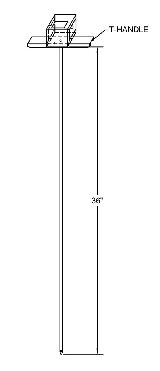 Reotmep compost moisture meter diagram