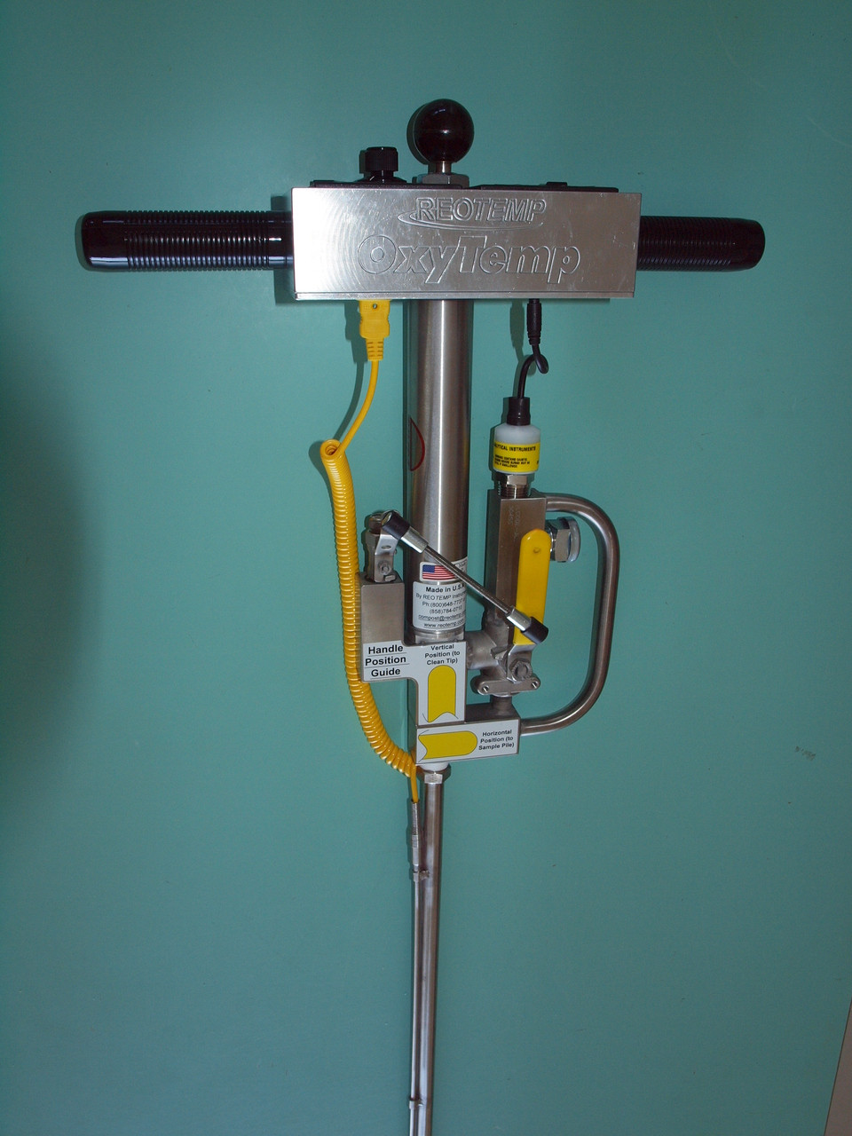 Reotemp Oxytemp probe