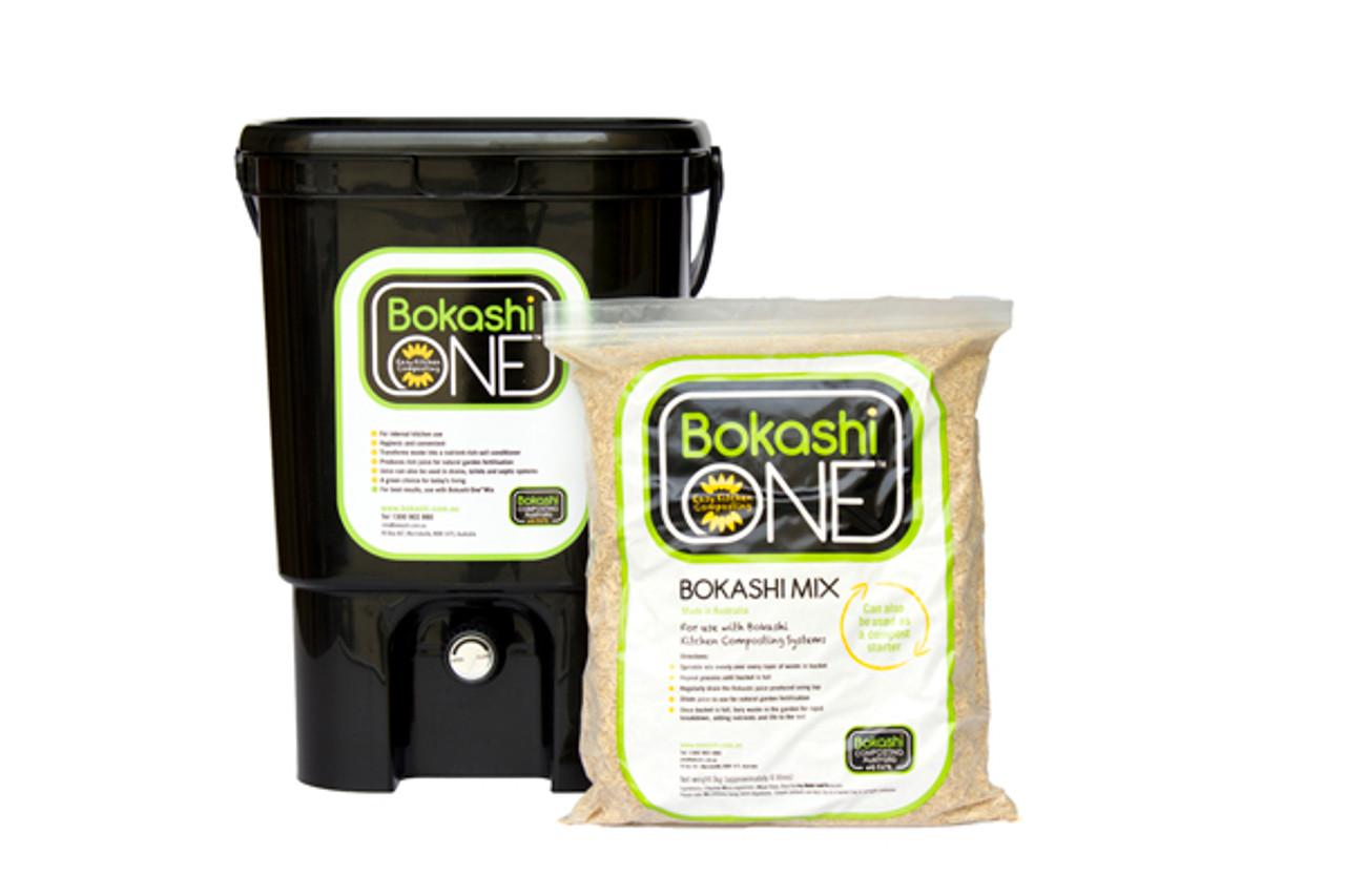 Bokashi Man Single-Bin Starter Kit