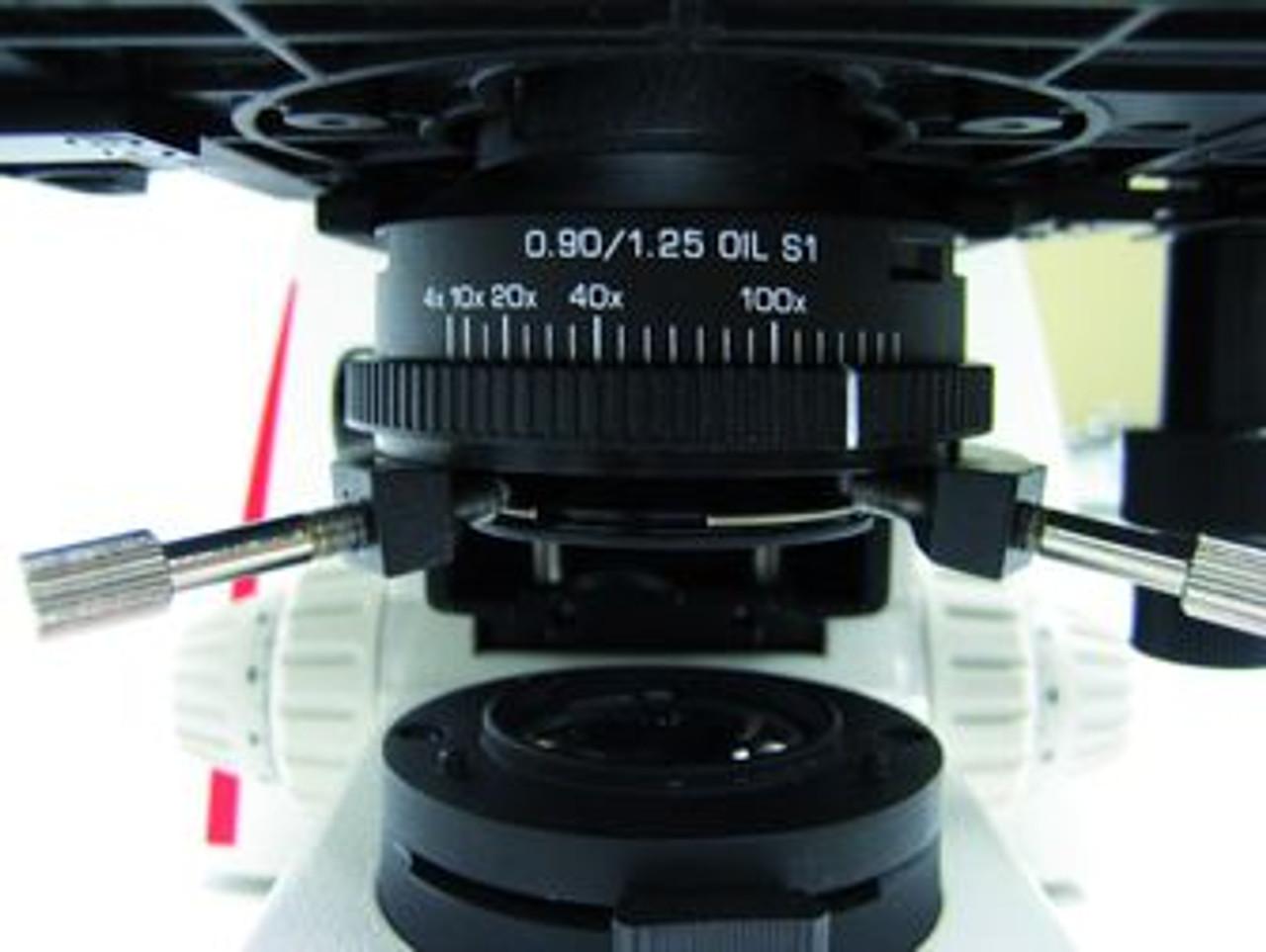 Leica DM750 Versatile Condenser mount