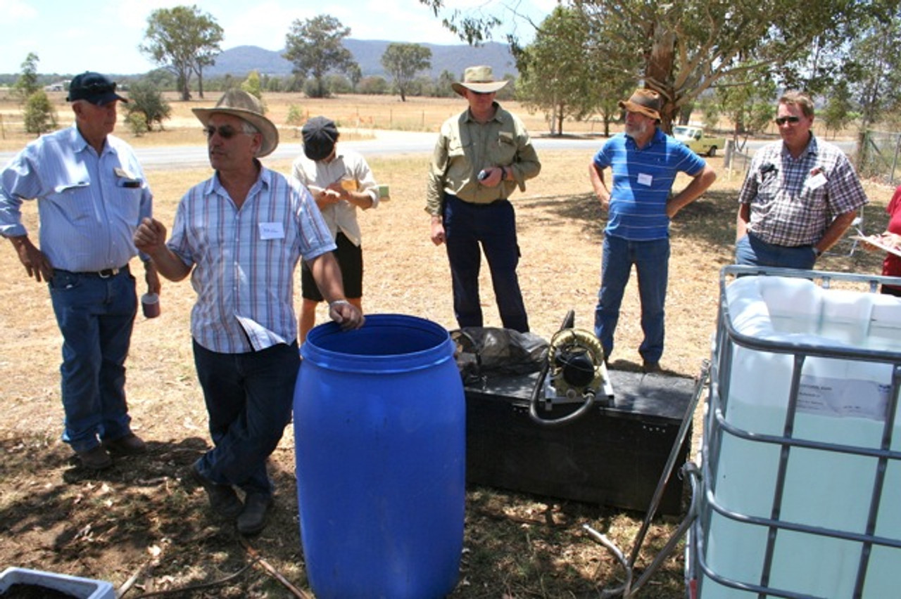 BioVital 200 Compost tea brewer  - with Paul taylor