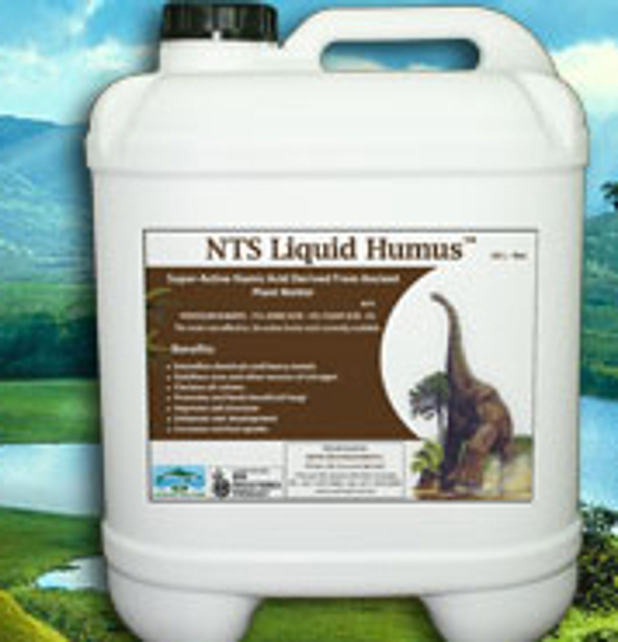 NTS Liquid Humus suitable for compost tea brewing