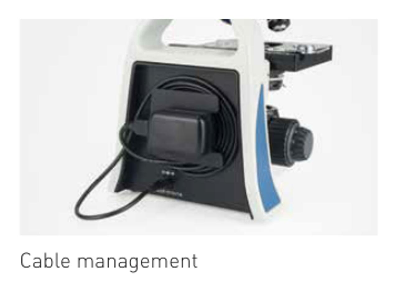E3 LED Monocular Microscope (mech. stage)