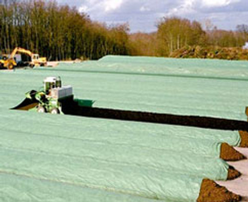 Windrow covers