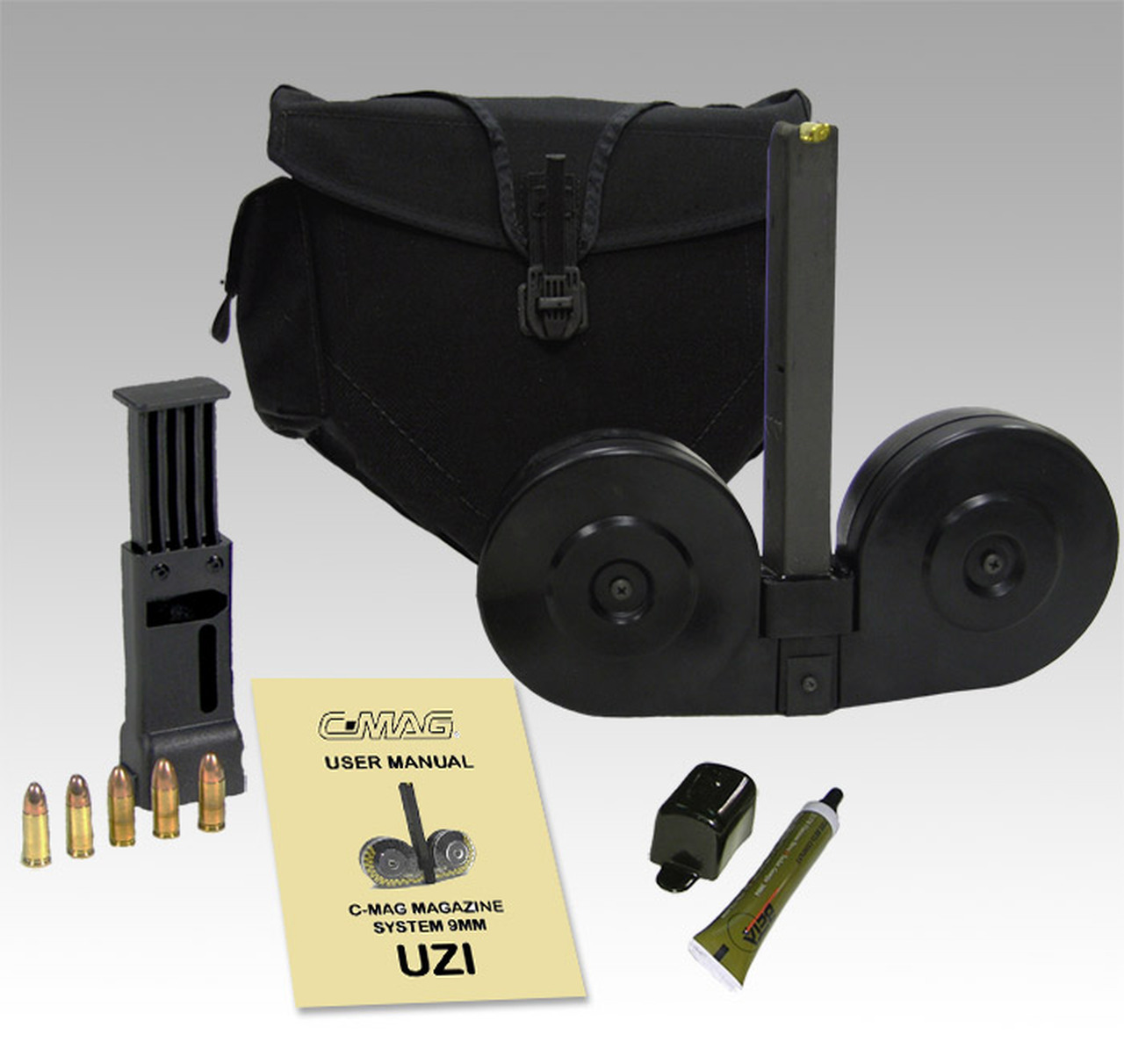 BETA MAG™ UZI 9MM - 100 ROUND DRUM MAGAZINE !!