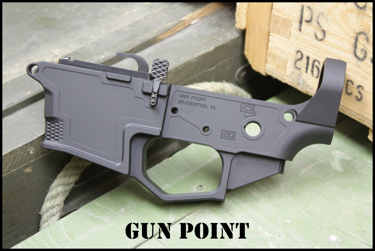GUN POINT AVENGER GEN2 9MM DEDICATED GLOCK MAG BILLET LIGHTWEIGHT LOWER  RECEIVER
