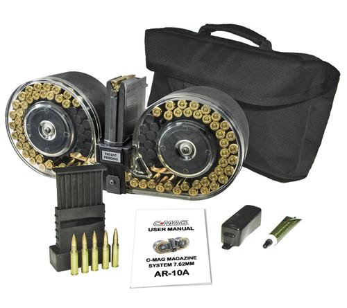 BETA C-MAG™ AR-10A - 7.62MM 100 Round Magazine LWRC Repr