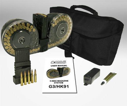 BETA C-MAG™  7.62MM 100 Round Magazine G3 HK91