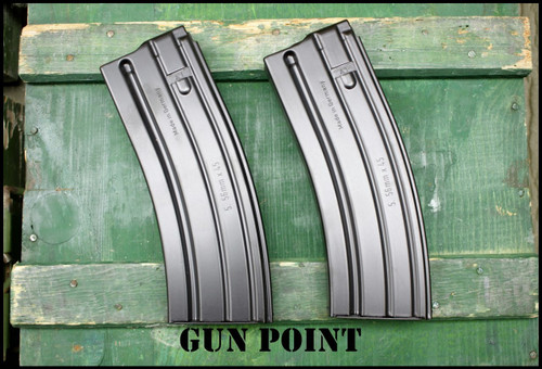 HK 416 Law Enforcement Maritime Factory New  (2)-30 Round 5.56mm Mags 300 Blackout  !!