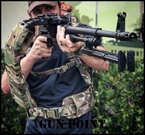 "RUSSIAN 550 ROUND PKM ""PREDATOR"" MACHINE GUN BACK PACK"