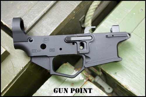 AMERICAN AVENGER GEN2 9mm AR BCG Ambidextrous Billet Machined Stripped Lower Receiver for the COLT Style Magazine.