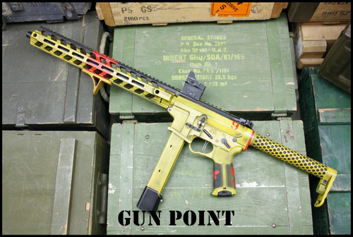 "Gun Point Custom Shop ""IRON CACTUS"" 9mm AR15 PCC with Ambidexters BCG Release"