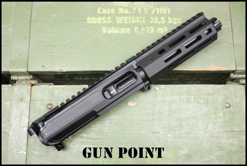 """Gun Point Custom 5.5"""" Avenger GEN2  9mm  AR15 Complete Pistol Upper"""