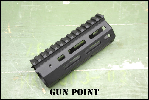"GPM  Avenger 5.5"" Custom Super Lightweight Rail for AR15 / AR9 Platform."