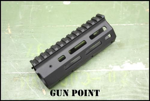 "GPM  Avenger 5.5"" Custom Super Lightweight Rail for AR15 / AR9 Platform."