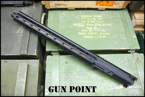 "GPM Custom 15.5"" Avenger GEN2 AR15 Ultralight Competition Complete Upper Receiver 9mm"