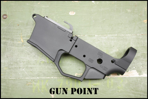 """GPM """"MONOLITH 45"""" Custom 45ACP AR15 Billet Machined Lightweight Stripped Lower Receiver for the GLOCK Style Magazine"""