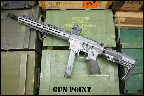 """The Mandalorian"" Gun Point Custom Shop 9mm AR15"