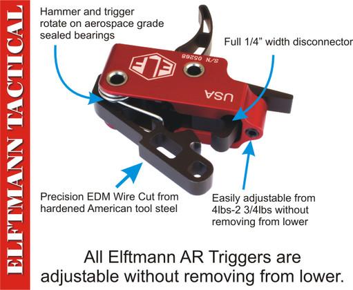 ELF 3-Gun Trigger - Drop In AR15 Trigger System