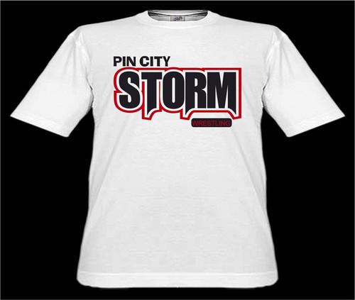 Pin City Storm Wrestling TS 2-3XL