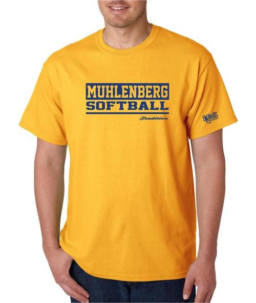 Muhl Softball D1X T-shirt