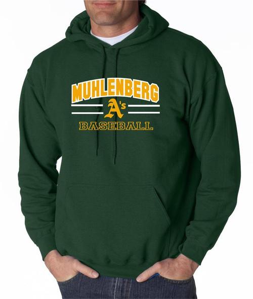 Muhl A's Baseball D2 Hoody