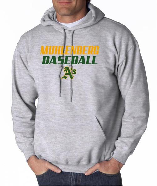 Muhl A's Baseball D3 Hoody