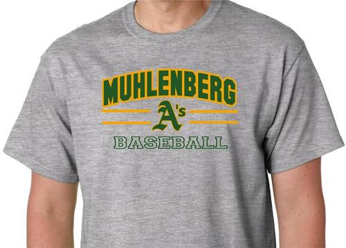 Muhl A's Baseball D2 T-shirt