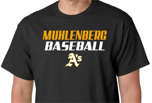 Muhl A's Baseball D3 T-shirt