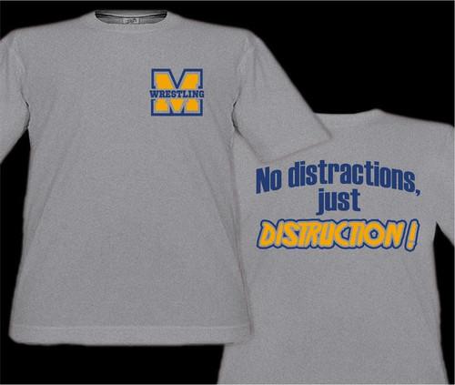 Muhl Wrestling D4 T-shirt