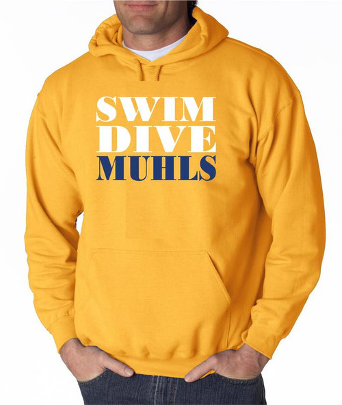 Muhl Swimming D2 Hoody