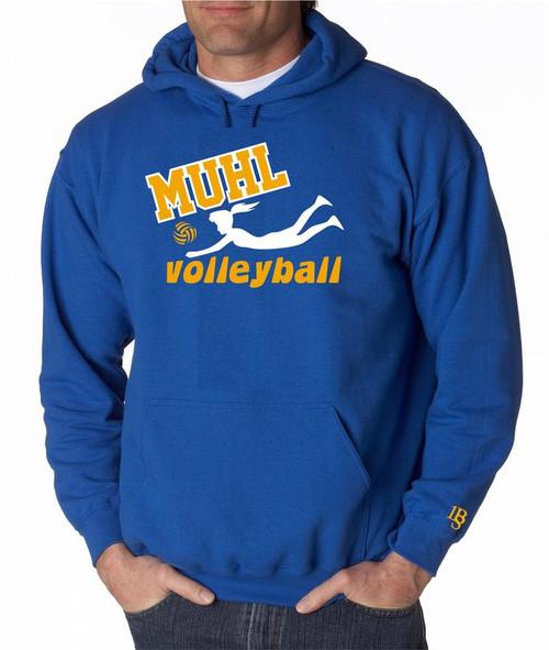 Muhl Volleyball Hoody