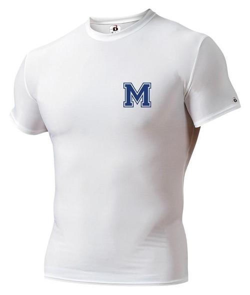 Muhlenberg Short Sleeve Compression Shirt