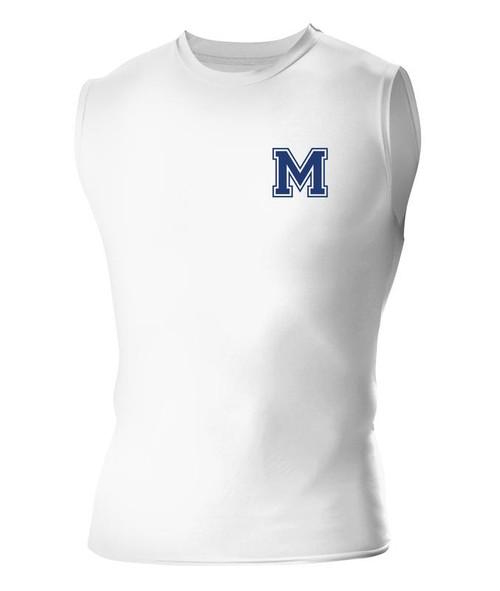 Muhlenberg Sleeveless Compression Shirt