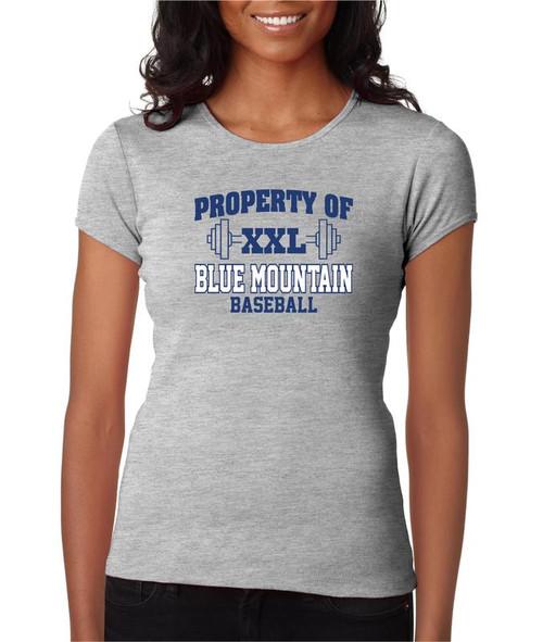 Blue Mountain Baseball D1 Ladies Fashion Fit