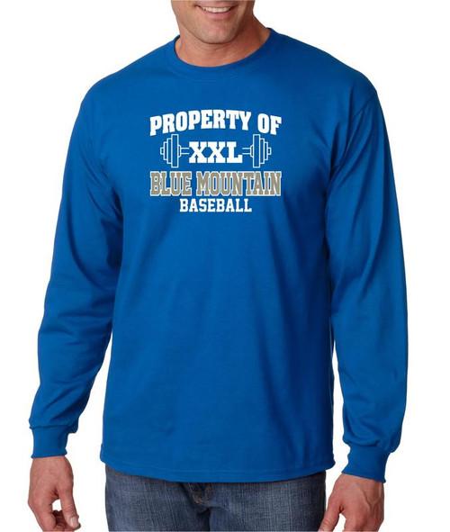 Blue Mountain Baseball D1 Long Sleeve T-shirt