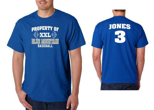Blue Mountain Baseball  D1 T-shirt