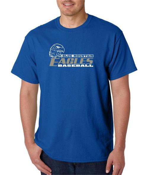 Blue Mountain Baseball  D2 T-shirt