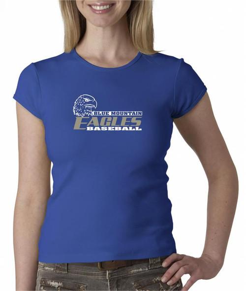 Blue Mountain Baseball D2 Ladies Fashion Fit