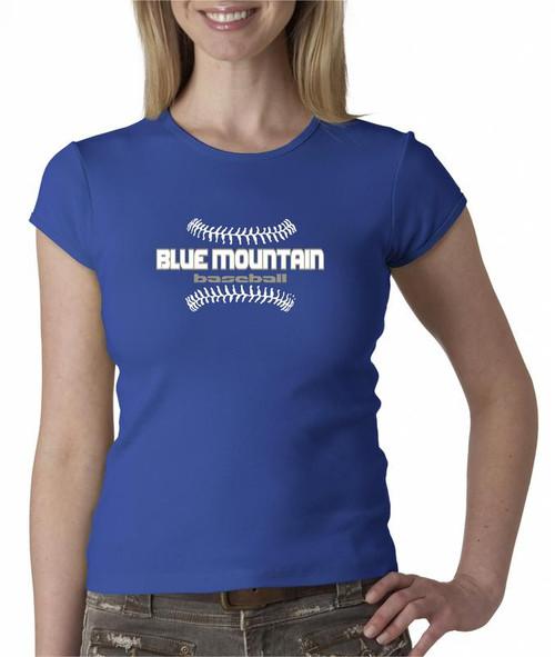 Blue Mountain Baseball D3 Ladies Fashion Fit