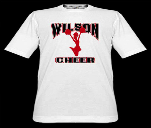 Wilson Cheerleading D1 T-shirt 2-5XL