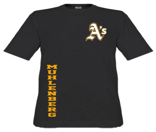 Muhl A's Baseball D5 T-shirt