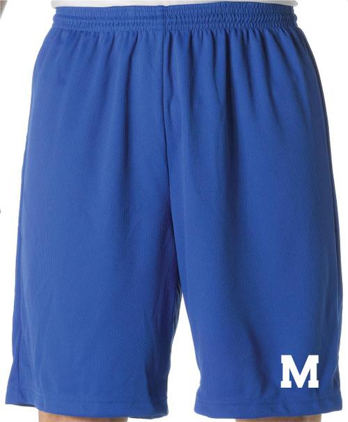 Muhlenberg Mesh Gym Shorts