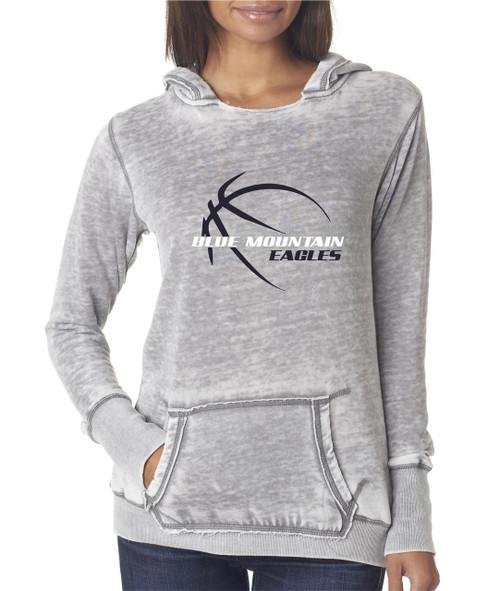 Blue Mountain Basketball D1 Ladies Zen Hooded Fleece