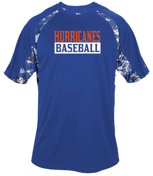 Holman Baseball D2 Digital Camo Dry Fit T-shirt
