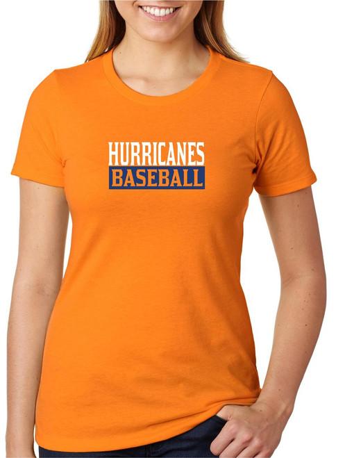 Holman Baseball D2 Ladies T-shirt